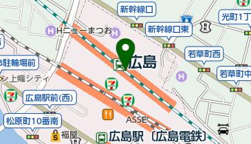 八天堂 ekie広島店の地図画像