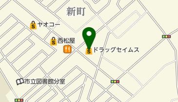 ドラッグセイムス鶴ヶ島一本松店の地図画像