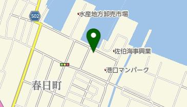 牡蠣小屋 シマノカキシンエイマルの地図画像