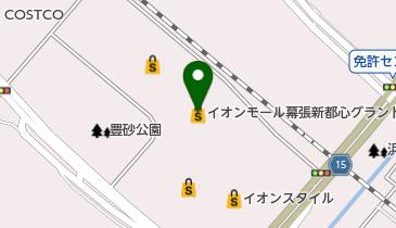 イオンモール幕張新都心の地図画像