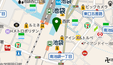 COMME CA MEN Platinum(コムサメンプラチナム) 西武池袋本店の地図画像