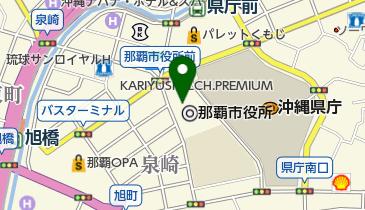 那覇市役所本庁舎の地図画像