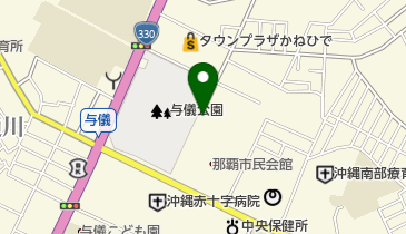 那覇市中央公民館の地図画像