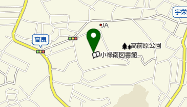那覇市小禄南公民館の地図画像