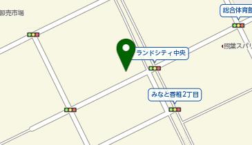 東洋水産株式会社 福岡アイランドシティ物流センターの地図画像