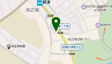 ベストメガネコンタクト 根津駅前店の地図画像