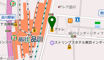 Tabio(タビオ) アトレ品川店の地図画像