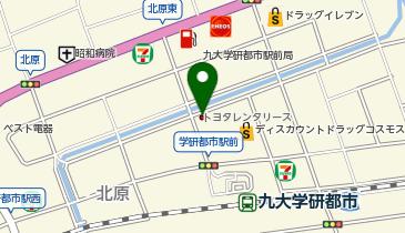 トヨタレンタリース福岡 伊都店の地図画像