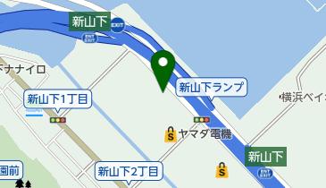 ハーレーダビッドソン横浜の地図画像