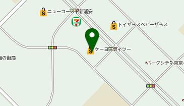 ケーヨーデイツー 新浦安店の地図画像