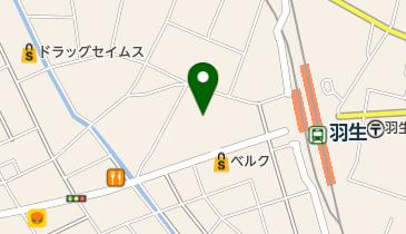 ケーヨーデイツー 羽生駅前店の地図画像