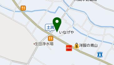 いなげや 川崎中野島店の地図画像