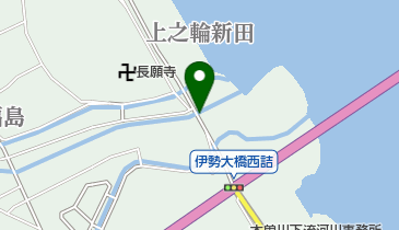 大山田水門の地図画像