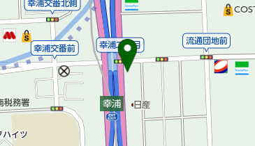 NAPS(ナップス) ベイサイド幸浦店の地図画像
