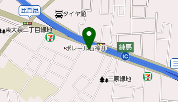 NAPS(ナップス) 練馬店の地図画像