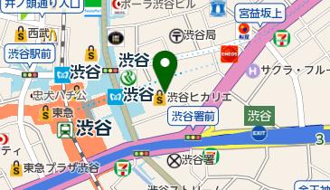 Hikarie Hall(ヒカリエ ホール)の地図画像