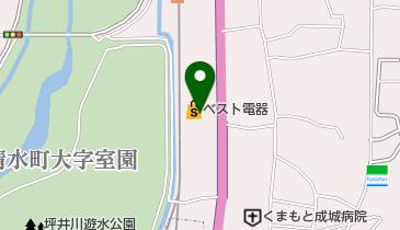 ベスト電器 北熊本店の地図画像