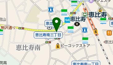 名代富士そば 代官山店の地図画像