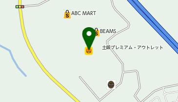 築地銀だこ 土岐プレミアム・アウトレット店の地図画像