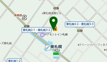 カフェプラザ時計台の地図画像