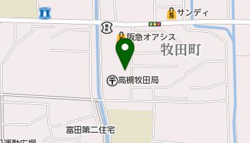 千房 高槻富田団地店の地図画像