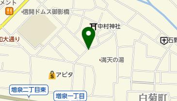 満天の湯 金沢店の地図画像