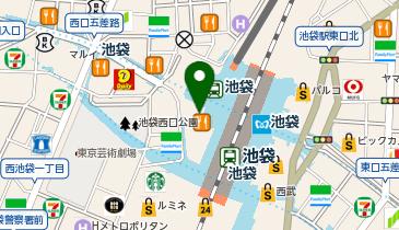 Gap (ギャップ) 池袋東武店の地図画像