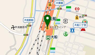 サンジェルマン 大船ルミネ店の地図画像