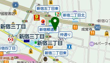 ワイズロード 新宿本館の地図画像