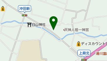 道とん堀 滑川店の地図画像
