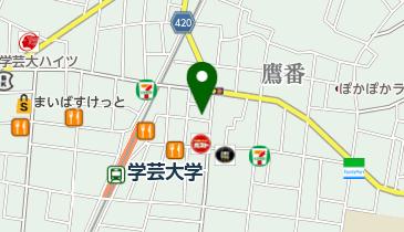 千代の湯 (鷹番)の地図画像