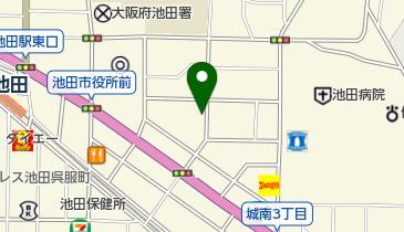 城南温泉の地図画像