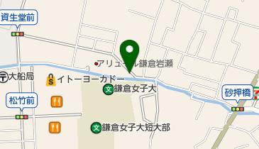 栗田湯の地図画像