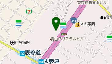 Wanocoto(ワノコト) 表参道スタジオの地図画像