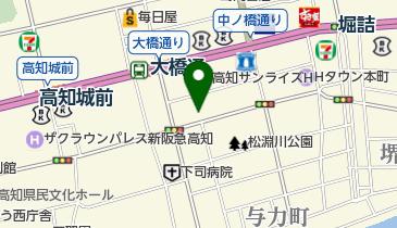 高野寺の地図画像