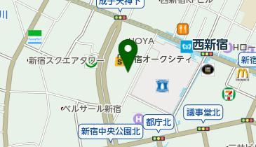 住友不動産 新宿オークタワーの地図画像