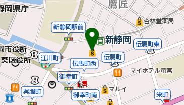 新静岡cenova(セノバ)の地図画像