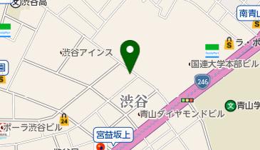 DDD青山クロスシアターの地図画像