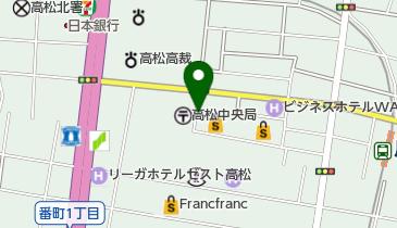 高松三越の地図画像