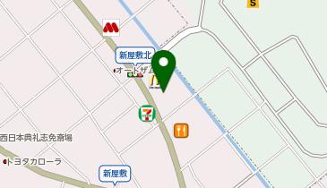 星乃珈琲店 福岡志免店の地図画像