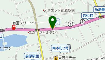 株式会社西日本自動車 前原営業所の地図画像