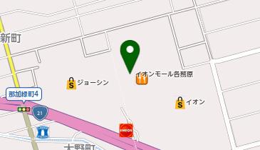 イオンモール各務原の地図画像