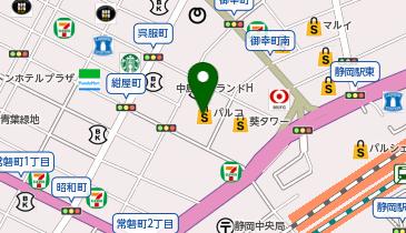 静岡PARCO(パルコ)の地図画像