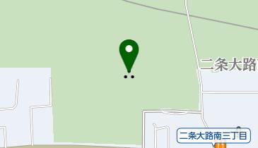 平城京朱雀大路跡の地図画像