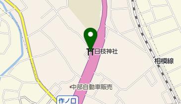 日枝神社の地図画像