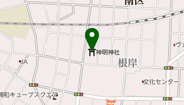 神明神社の地図画像