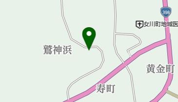 熊野神社の地図画像