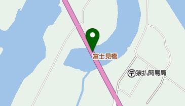 富士見橋の地図画像