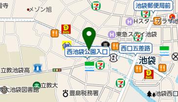 パーソナルトレーニングジムBodyke(ボディーク) 池袋店の地図画像