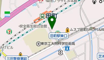 田町(東京都) 東口 タクシー乗り場の地図画像